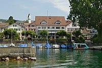 Blick vom Zürichsee auf Männedorf (2009).jpg