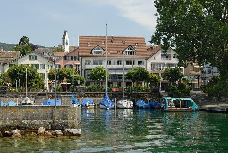 File:Blick vom Zürichsee auf Männedorf (2009).jpg