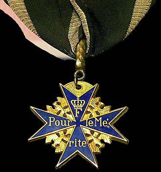 Pour le Mérite - Image: Blue Max