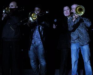 Jools Holland - Jools Holland's Rhythm and Blues Orchestra at Guilfest 2012