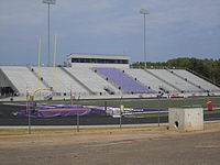 Bobcat Stadium at Hallsville High School