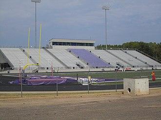 Hallsville, Texas - Bobcat Stadium at Hallsville High School