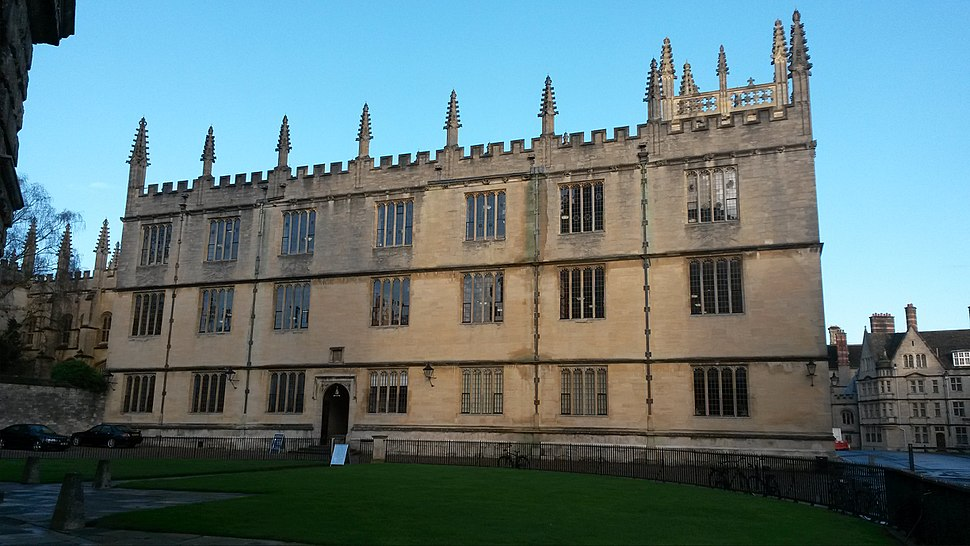 Bodleian from Radcliffe Square