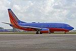 Boeing 737-7BD(w) 'N7736A' Southwest (26473628218).jpg