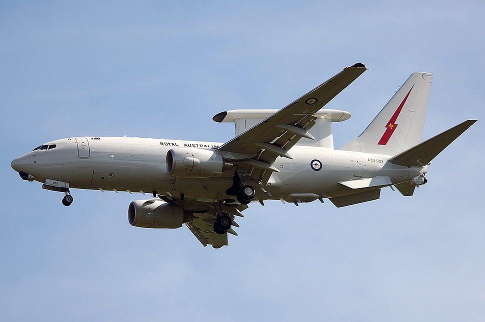 Boeing 737-7ES Wedgetail, Australia - Royal Australian Air Force (RAAF) JP7120522