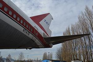 Boeing 747 Prototype Tail.JPG