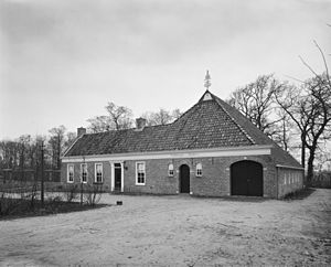 Verhildersum - The schathuis in 1974