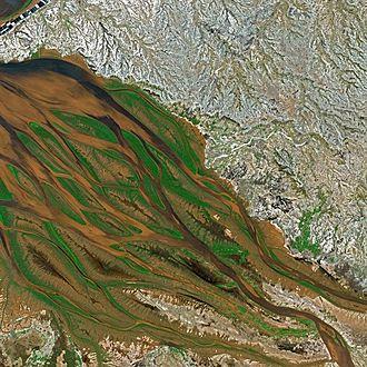 Bombetoka Bay - Bombetoka Bay seen by Spot satellite.