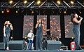 Boney M with Maisie Williams in the Centre (14357811759).jpg