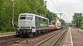Bonn Oberkassel Rail Adventure 111 215 overbrenging DD rijtuig (48299226832).jpg