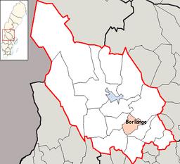 Borlänge Municipality in Dalarna County.png
