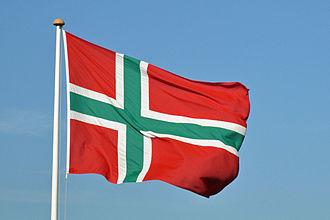 Flag of Bornholm - Bornholmsflaget