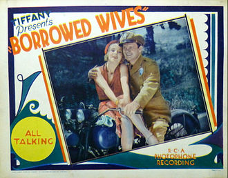 Borrowed Wives - Lobby card