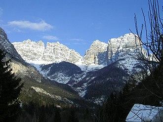 Forno di Zoldo - Image: Bosconero 2