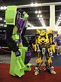 BotCon 2011 - Transformers cosplay - Devastator and Bumblebee (5802072413).jpg