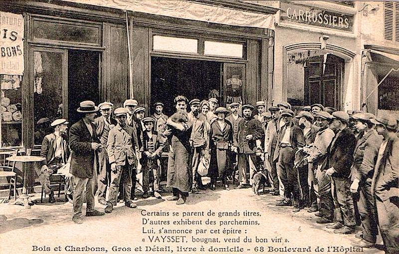 Cafe Le Bougnat De Conquand Paris