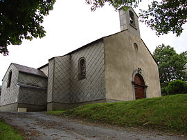 Bouisset church, in Lasfaillades