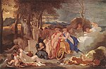 Bourdon, Sébastien - Bacchus and Ceres with Nymphs and Satyrs - 1640-60.jpg