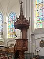 Bouvines, Chaire de l'église Saint Pierre.jpg