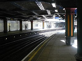 Bow, emerging from underground - geograph.org.uk - 863925.jpg