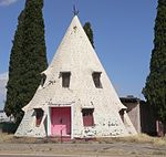 File:Bowie, Arizona teepee building from S 1.JPG