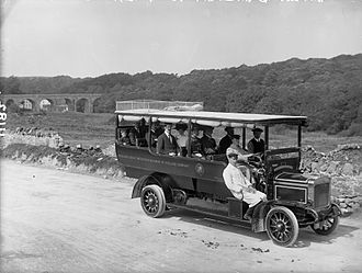 Midland Great Western Railway - In 1907 in a MGWR bus.