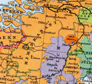 Duchy of Brabant - The Duchy of Brabant in the 15th century