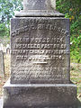 Braddock (Cyrus G.), Bethany Cemetery, 2015-10-09, 02.jpg