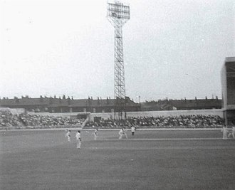 Bramall Lane - Cricket at Bramall Lane in 1965