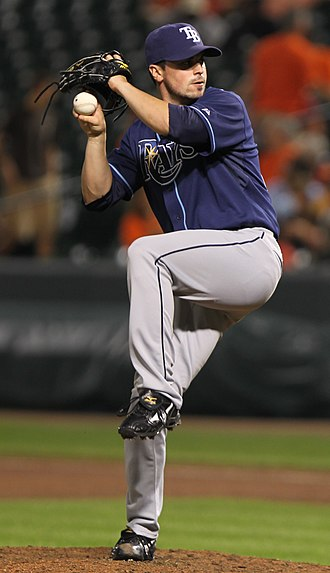 Brandon Gomes - Gomes with the Tampa Bay Rays