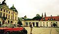 Branixki Palace, Bialystok, Fiat 125p, 07.1992r.jpg