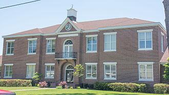 Brantley County, Georgia - Image: Brantley County Courthouse, Nahunta, GA, USA