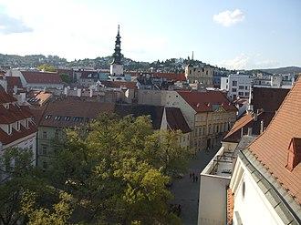 Old Town Hall (Bratislava) - Image: Bratislava Old Town Hall View NW