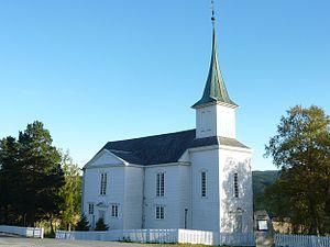 Bratsberg Church - View of the church