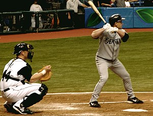 Bret Boone - Boone with the Seattle Mariners