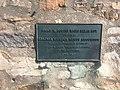 Brian M. Goring Radio Relay Hut plaque.jpg