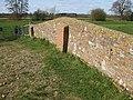 Brick parapet of the old stone bridge - geograph.org.uk - 1219279.jpg