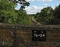 Bridge and railway line leaving Charlbury - geograph.org.uk - 489436.jpg