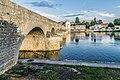 Bridges over the Cher river in Montrichard 01.jpg