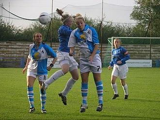 Bristol City W.F.C. - Bristol Academy playing Birmingham City in 2006