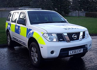 British Transport Police - A British transport police Nissan Pathfinder
