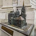 Bronze-Modell des Aachener Dom - Altstadt Aachen - Nordrhein-Westfalen - Deutschland (21340060954).jpg