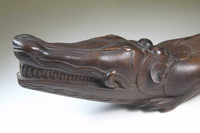 File:Brooklyn Museum 22.1351 Slit Gong in Form of Alligator (4).jpg