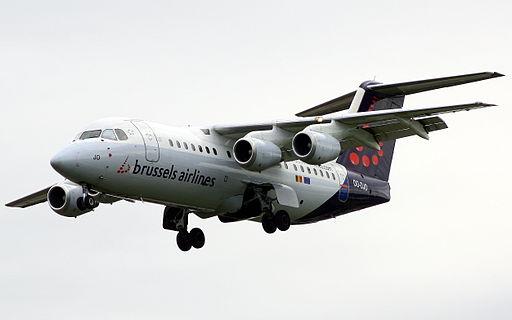 Brussels Airlines BAe146 OO-DJO