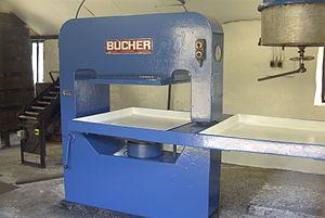 Fruit press - A modern cider press.