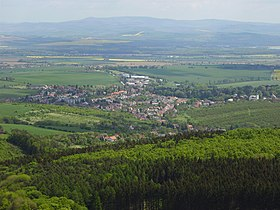 Panorama de Buchlovice.