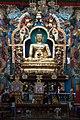 Buddha at Namdroling Monastry, Bylekuppe.jpg