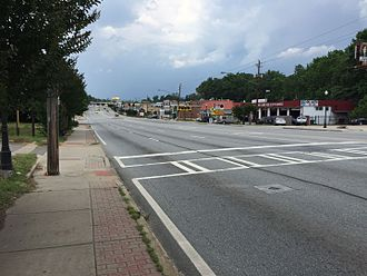 U.S. Route 23 in Georgia - Buford Highway