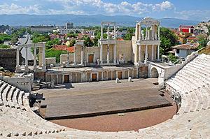 Plovdiv Roman theatre - Image: Bulgaria Bulgaria 0785 Roman Theatre of Philippopolis (7432772486)