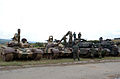 Bulgarian T-72 and US M1 Abrams.JPEG
